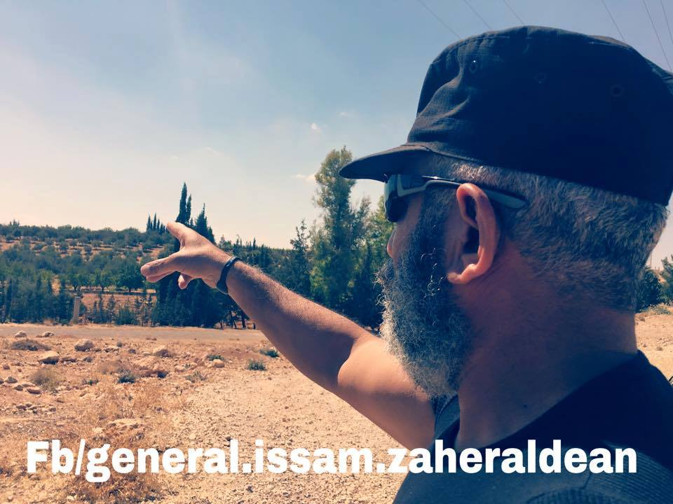 Syrian Republican Guard General Arrives Quneitra Province