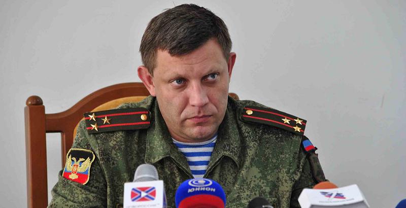 DPR's Head Offers Poroshenko to Hold Meeting on Ukrainian Border