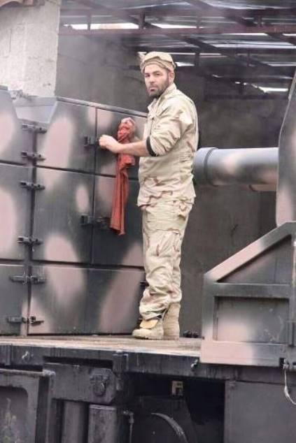 Original 100-mm Self-Propelled Artillery Platforms Eliminate Terrorists in Syria (Photos)