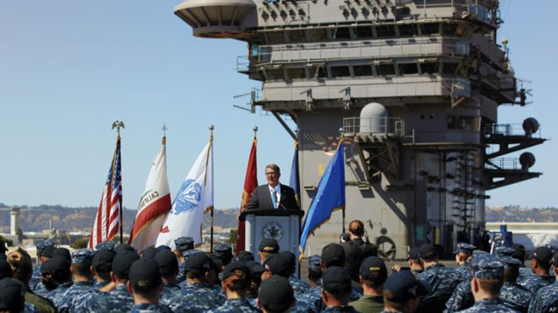 US Defense Secretary: US to 'Sharpen Military Edge in Asia'