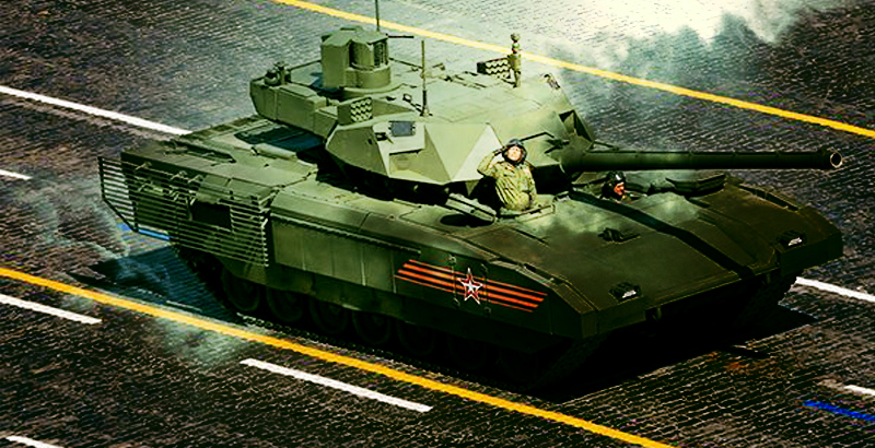 The Russian Army Will Receive 2,000 'Armata' Tanks