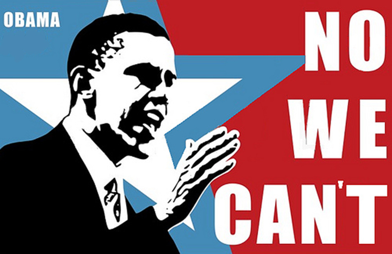 No, We Can't! Obama's Foreign Policy Ended Unsuccessfully