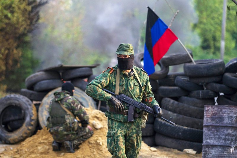 DPR Army Stopped Breakthrough of Ukrainian Armed Forces near Donetsk