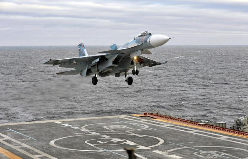 Russia's Deck-Based Warplanes to Hit Terrorists in Syria with Extreme Precision