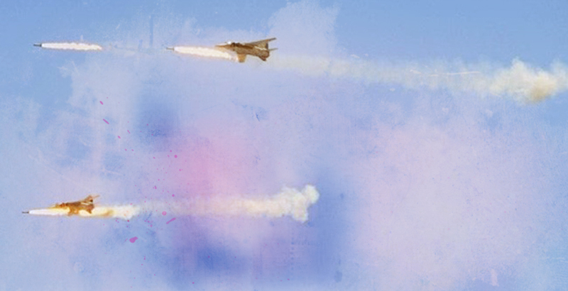 Syrian Air Force Hits Terrorist Targets in Idlib