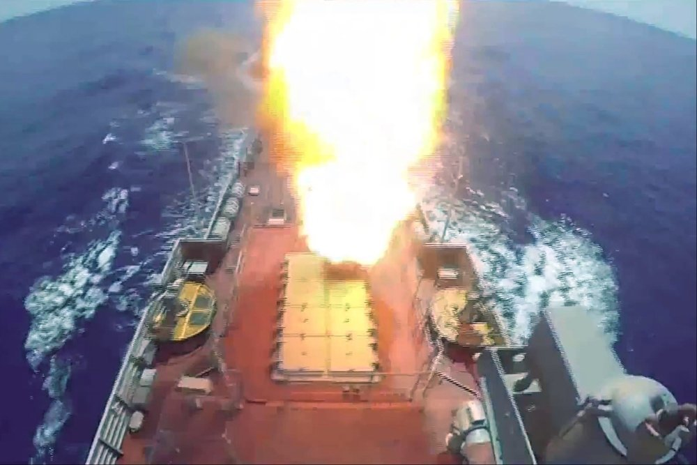 Caspian Flotilla Ships Shot Kalibr Cruise Missiles (Photo & Video)