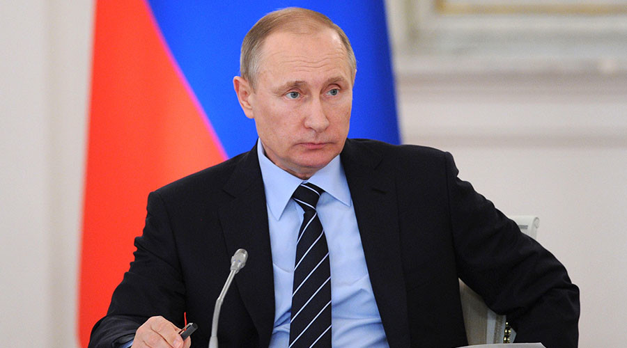 Putin: Washington Agrees with Moscow that Terrorists Absorb Syrian Opposition
