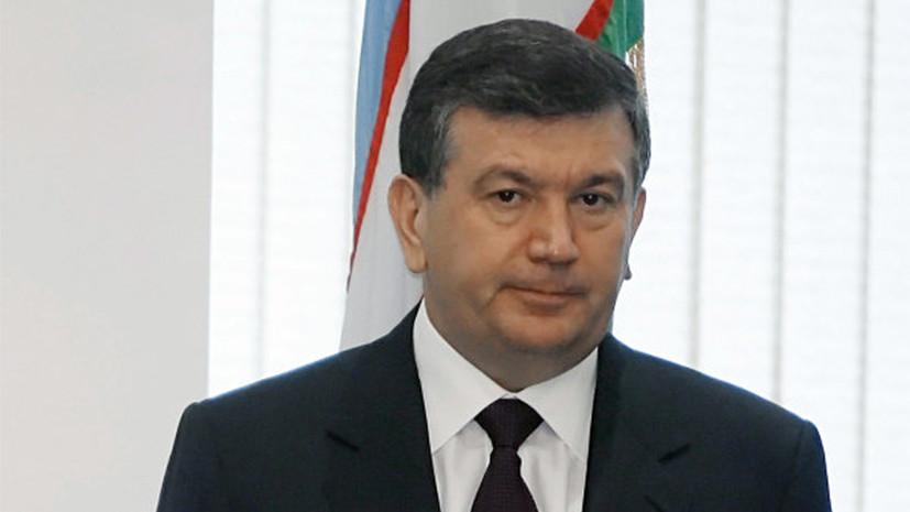 Uzbekistan Approved Acting President