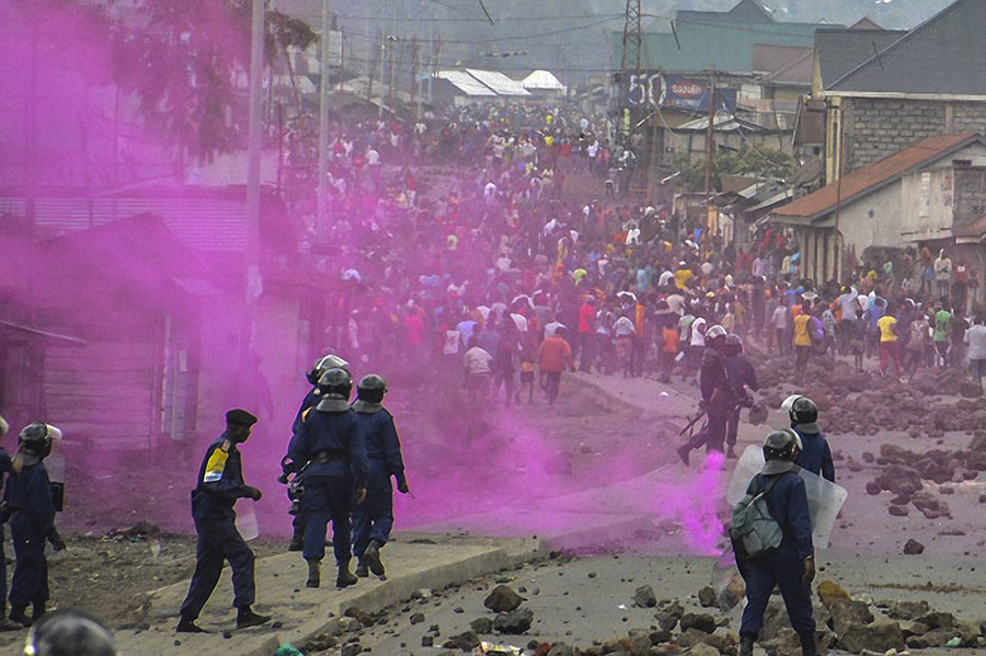 Up to 50 Killed, Police Officer 'Burned Alive' During Anti-Govt Protests in Congo (Photo & Video)