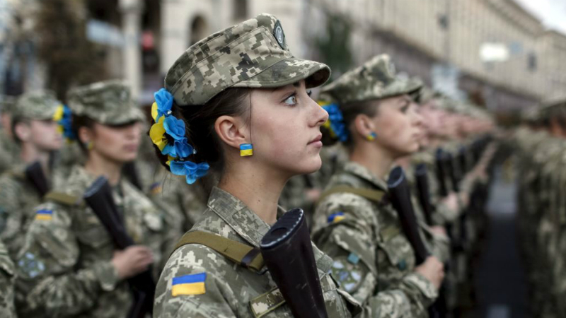 Ukrainian Armed Forces Send Women to Contact Line in Donbass Instead of ATO Fugitive Fighters