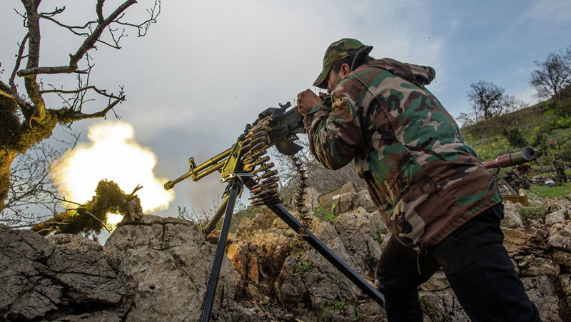 4 Terrorist Commanders Killed in Homs & Hama Provinces
