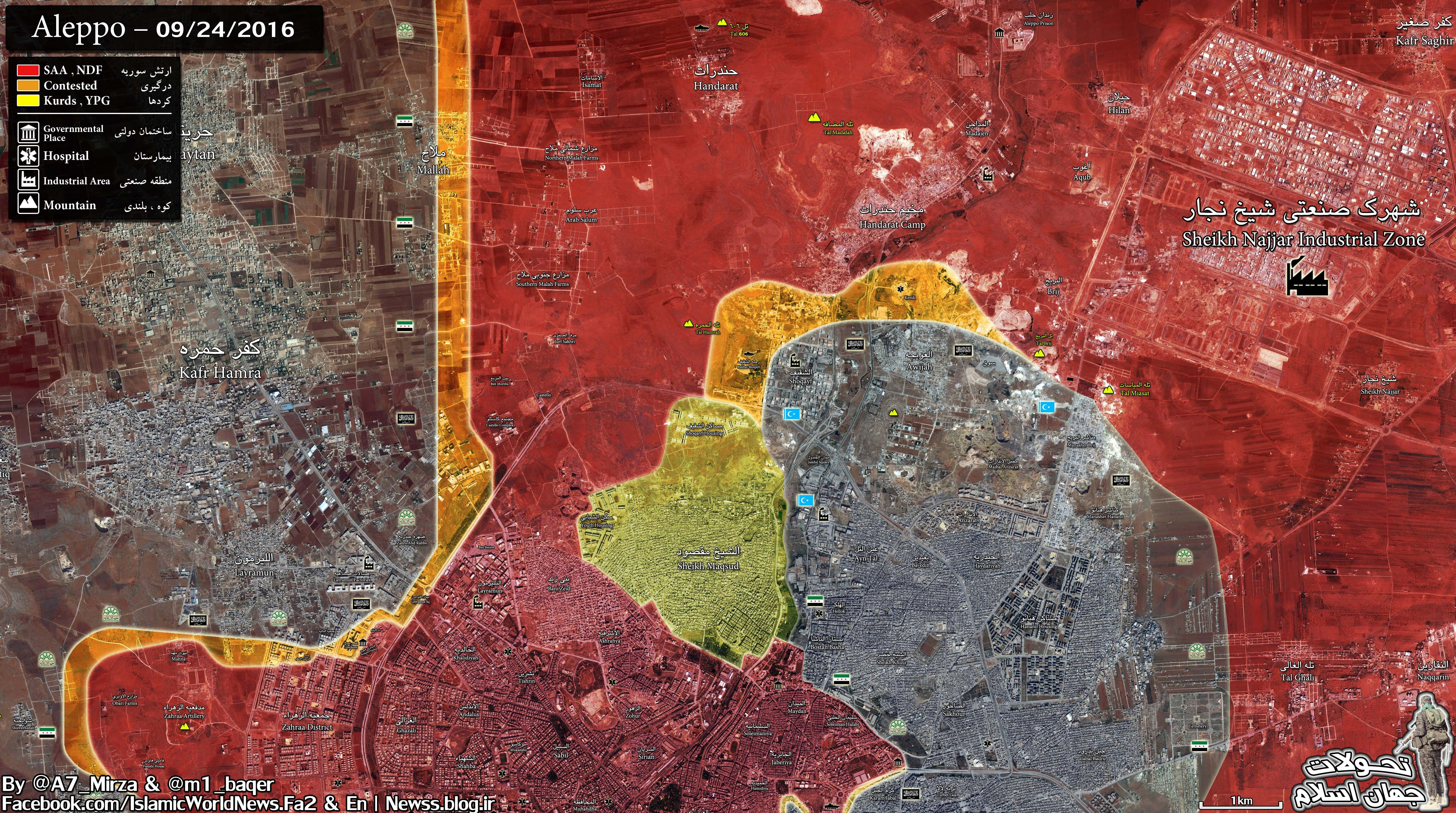 Government Forces Achieve Massive Gains in Northern Aleppo