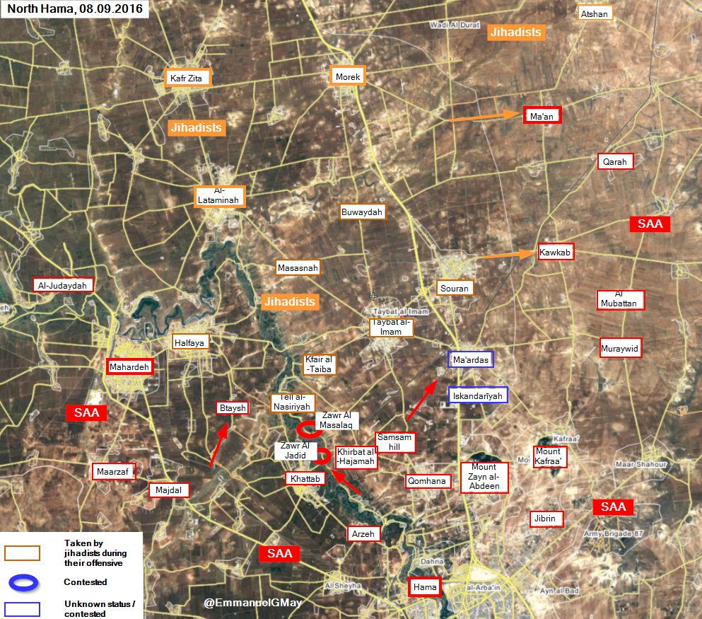 Syrian Army and Allies Retake 2 more Villages in Northern Hama