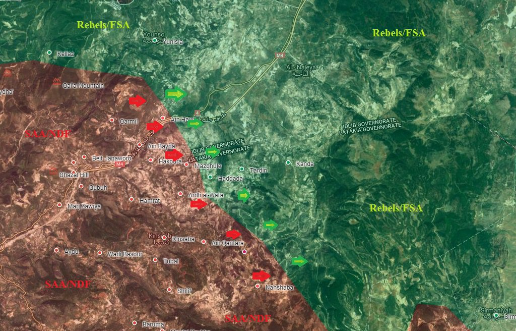 Syrian Army Liberating Several Villages, Deploying Close to Latakia border with Idlib (Maps, Video)