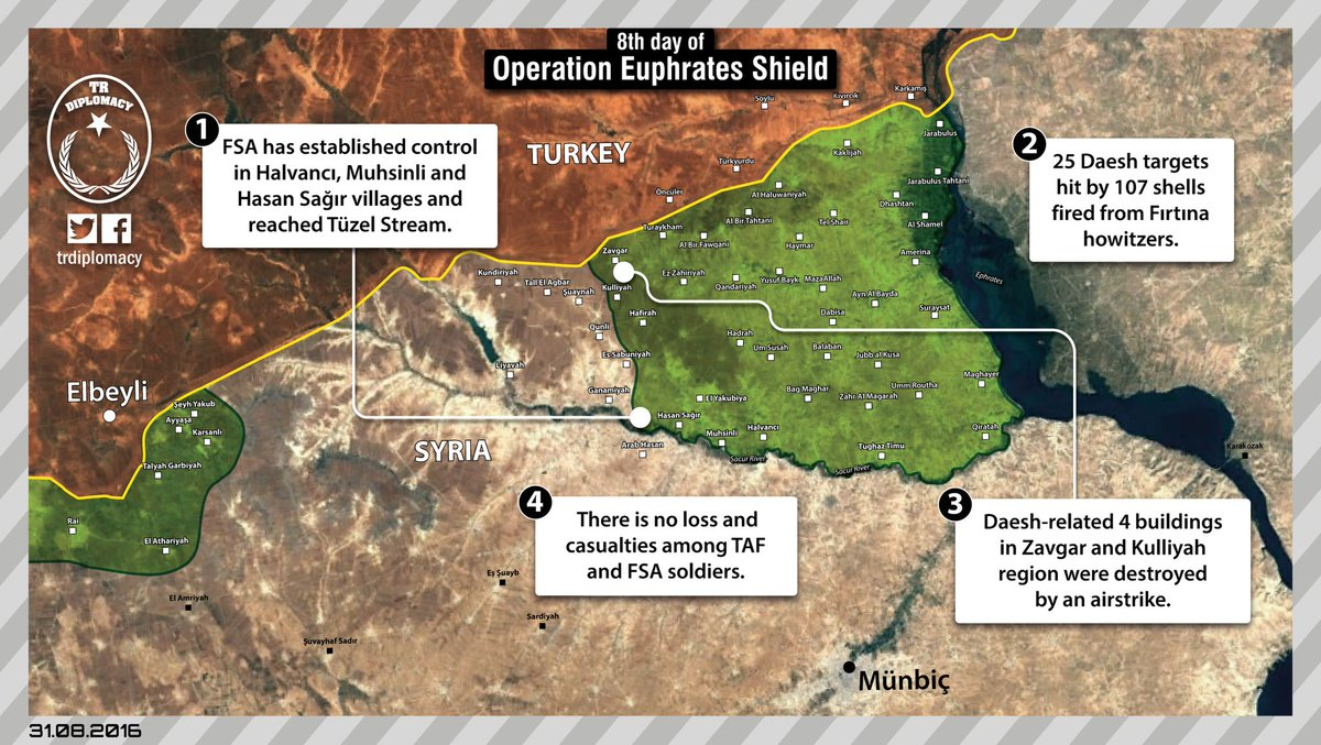 ISIS Regains Some 10 Villages from Turkish-backed Forces in Northern Syria