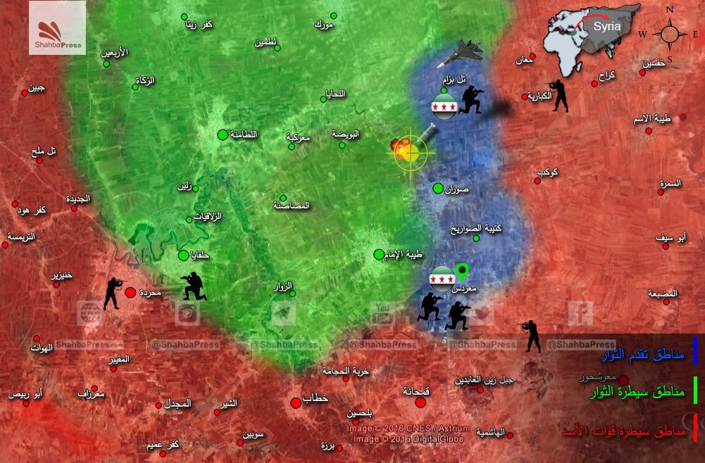 Pro-Government Forces Launch Massive Counter-Attack in Northern Hama