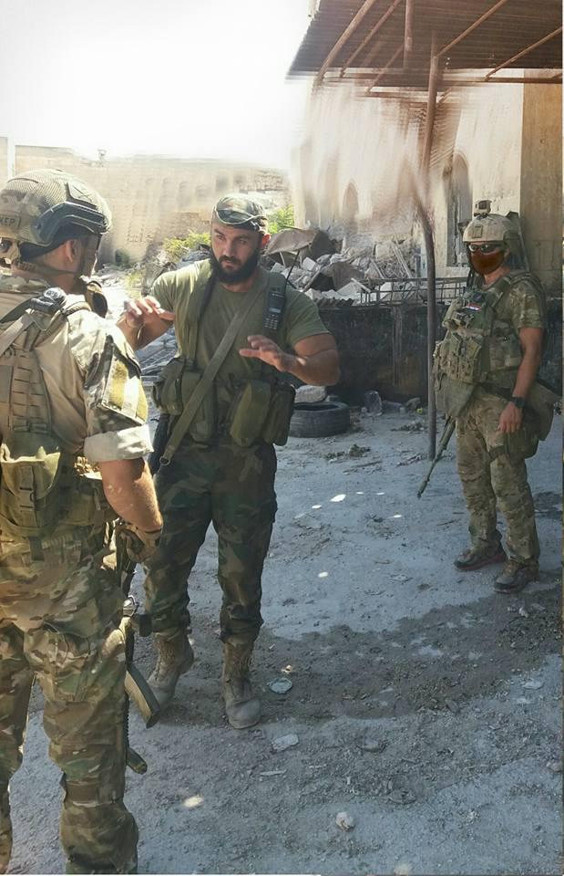 Russian Military Advisers in Aleppo City - Photo