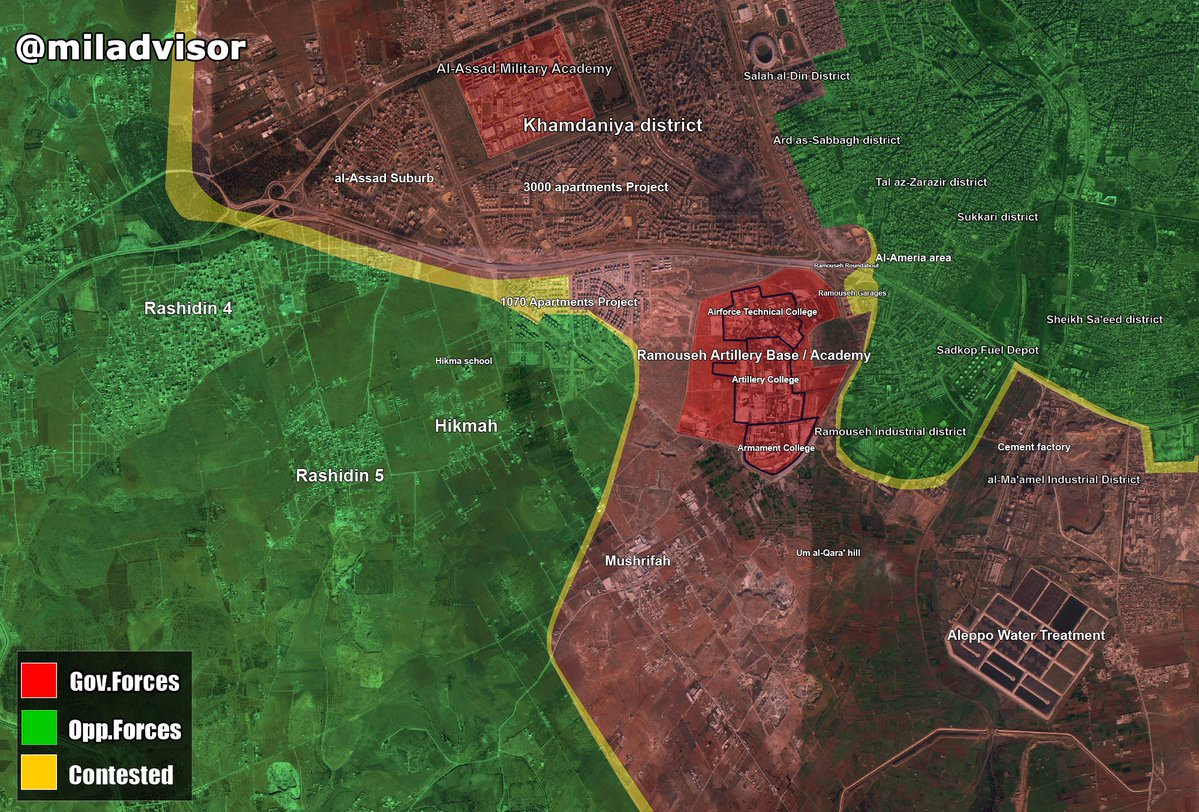 Syrian Army Advancing in Ramouseh Industrial District, Makes Major Gains in Aleppo (Map, Videos, Photos)