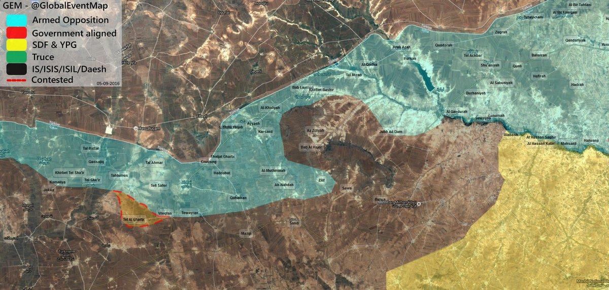 Turkish-backed Militants Expanding Control along Syrian-Turkish Border
