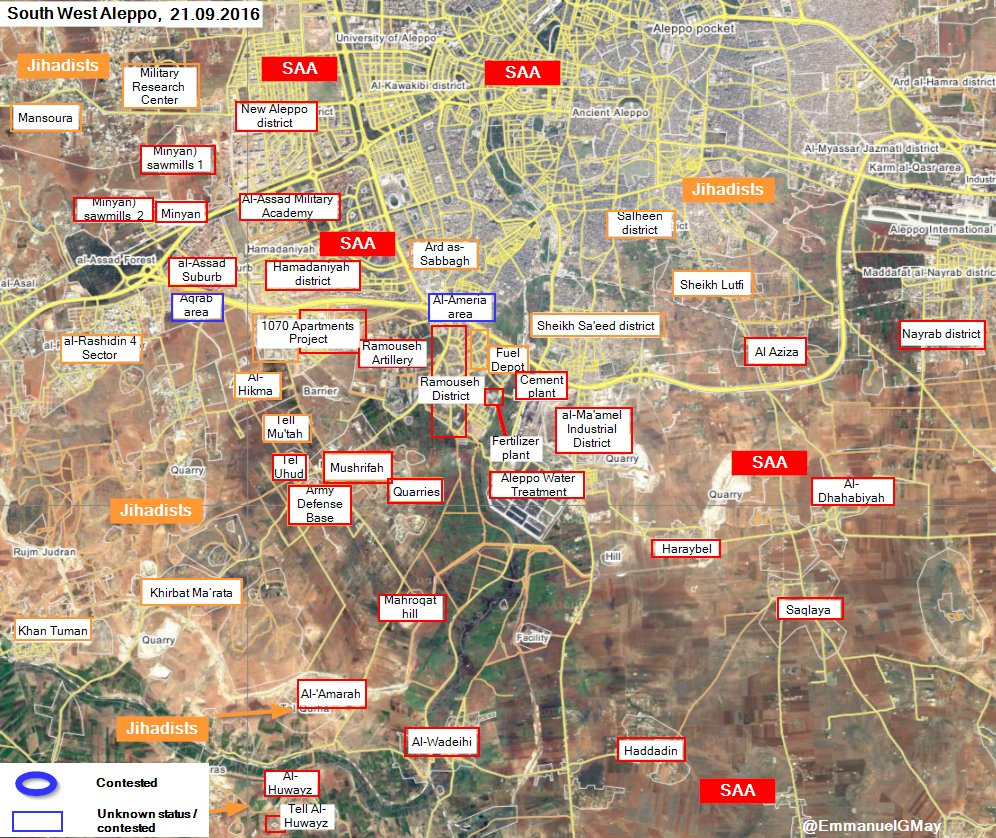 Syrian Military Announces Military Operations to Liberate Eastern Neighborhoods of Aleppo