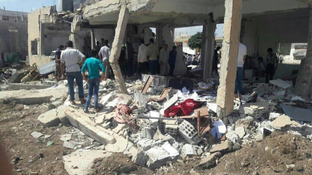 ISIS Sucide Bomber Hit High Level Rebel Meeting in Southern Syria
