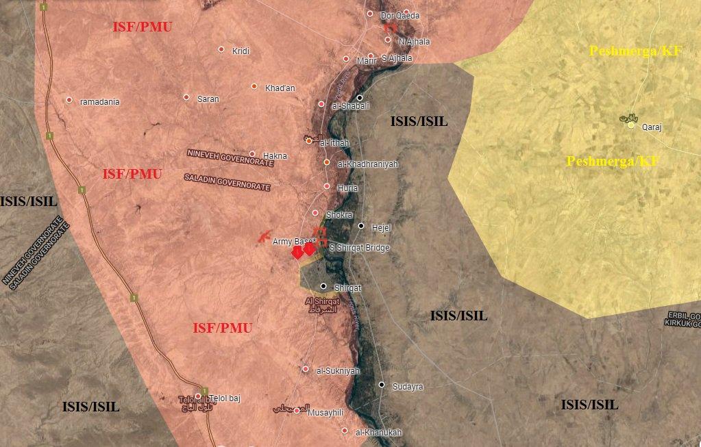 Iraqi Army Successfully Advancing on ISIS near Mosul