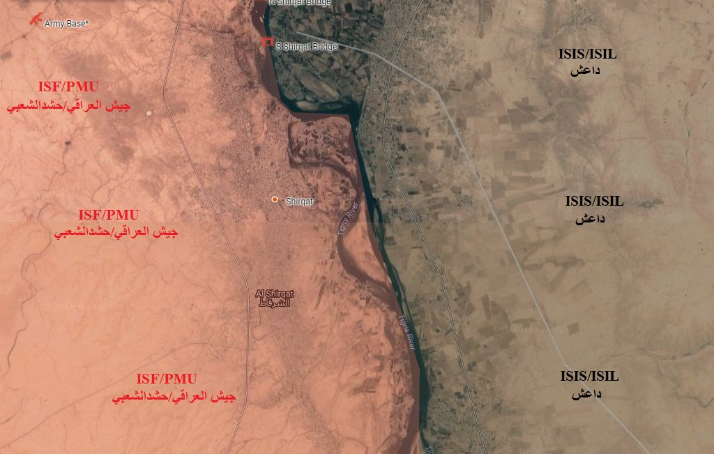 Iraqi Forces Liberate Strategic Town of Shirqat from ISIS