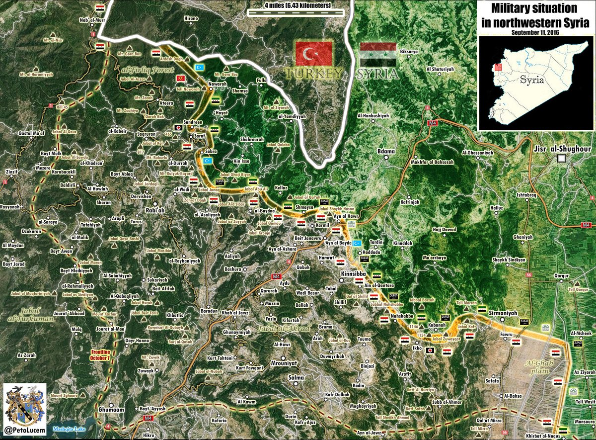 Syrian Army & Allies Storming Key Town of Kabbani in Latakia Proince