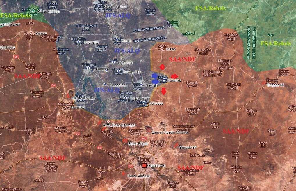 Fatah Al-Sham (Al Nusra) Seizes Kawkab Village in Northern Hama