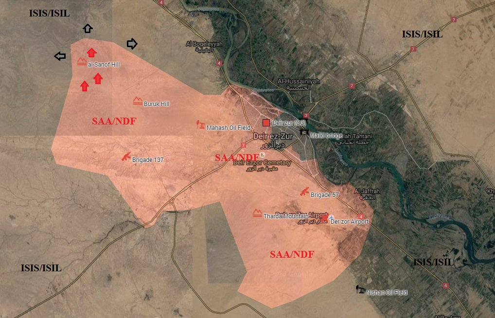 Syrian Army Regains Strategic Hill in Northwestern Deir Ezzor