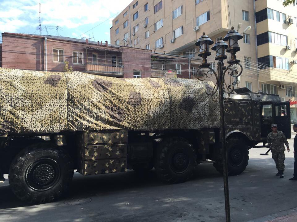 Armenia Receives first Russia-made Iskander-M Missile Systems