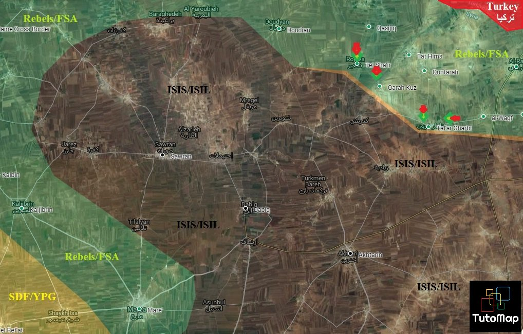 Turkish-backed Militants Seize 3 Villages West of Al Rai