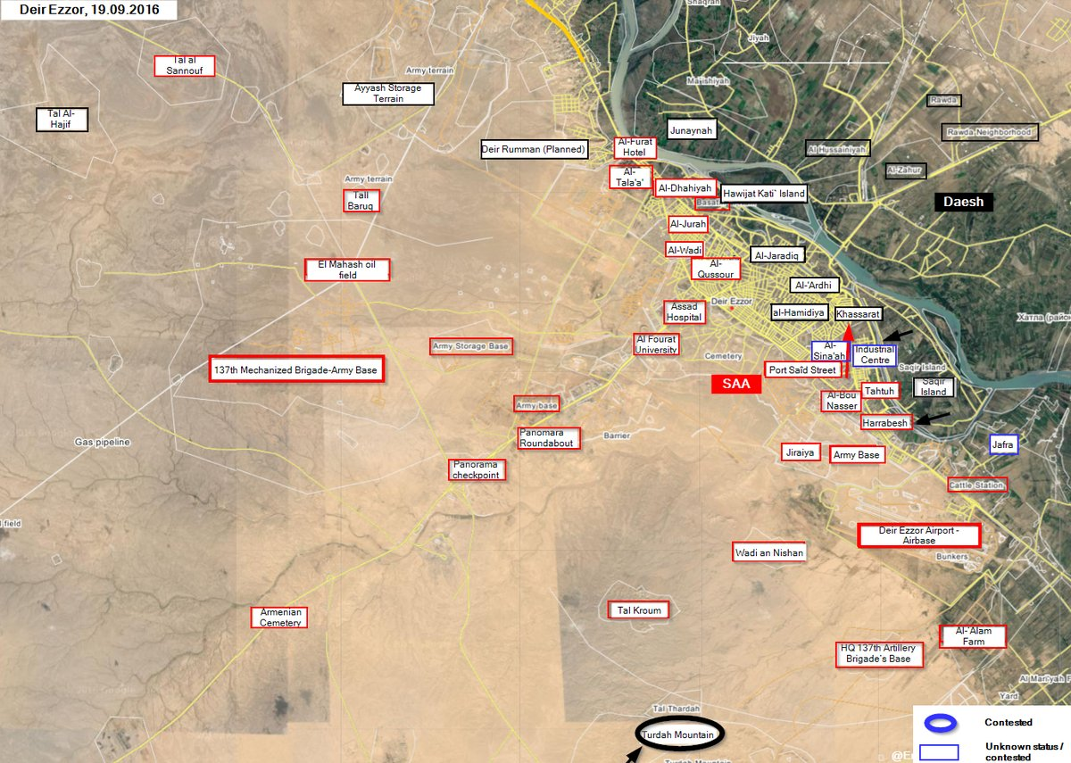 Syrian Army Advancing in Deir Ezzor