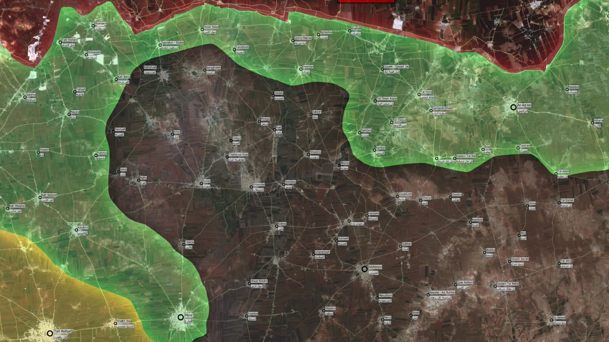 Map Update: Military Situation in Northern Aleppo, Syria on September 20