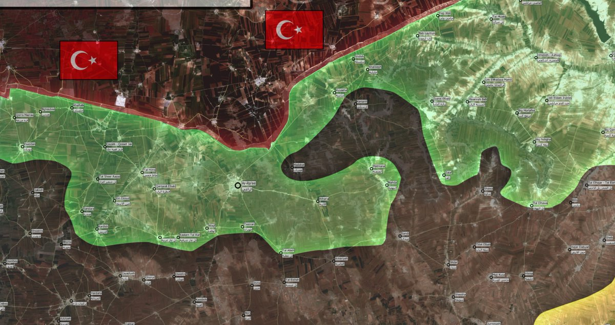2 Turkish Soldiers Killed in Northern Aleppo as ISIS Advancing on Ankara-led Forces