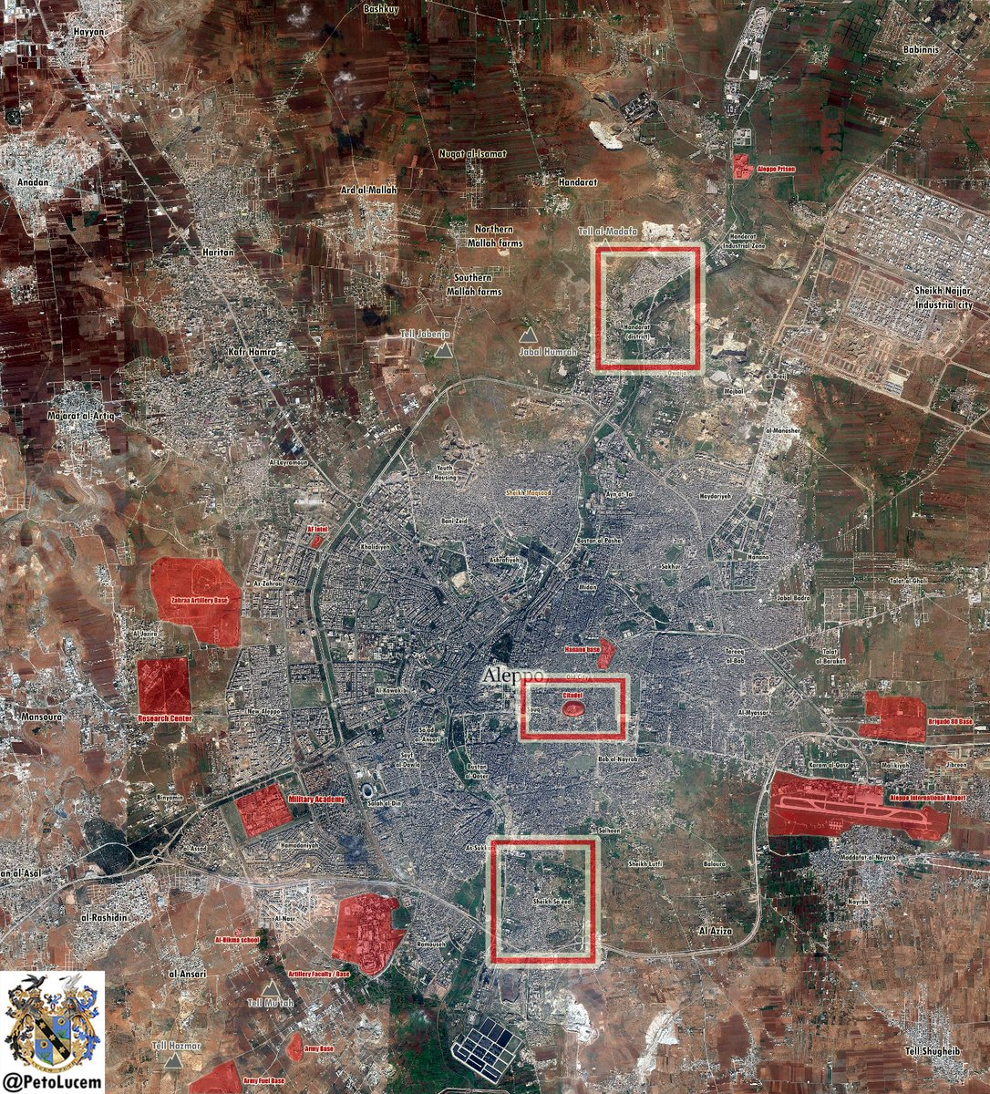 Government Forces Advancing in Sheikh Sa'eed Neighborhood of Aleppo. Terrorists Counter-Attack in Handarat