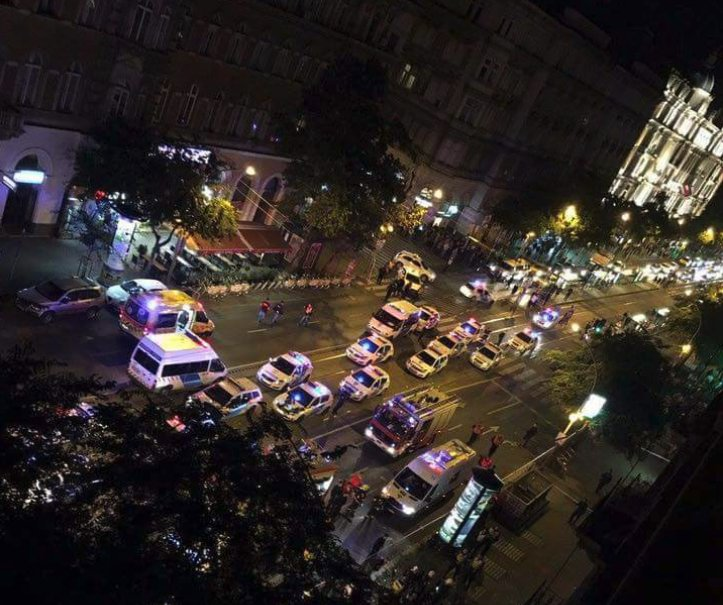 BREAKING: An Explosion Rocked Budapest - Casualties Reported