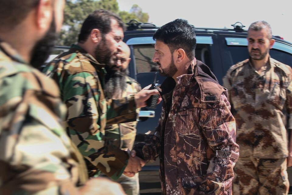 Commander of Syrian Army's Tiger Forces Arrives Hama Province (Photos)