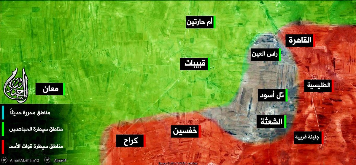 Jabhat Al-Nusra Joins US-backed Militants Attacking Government Forces in Northern Hama