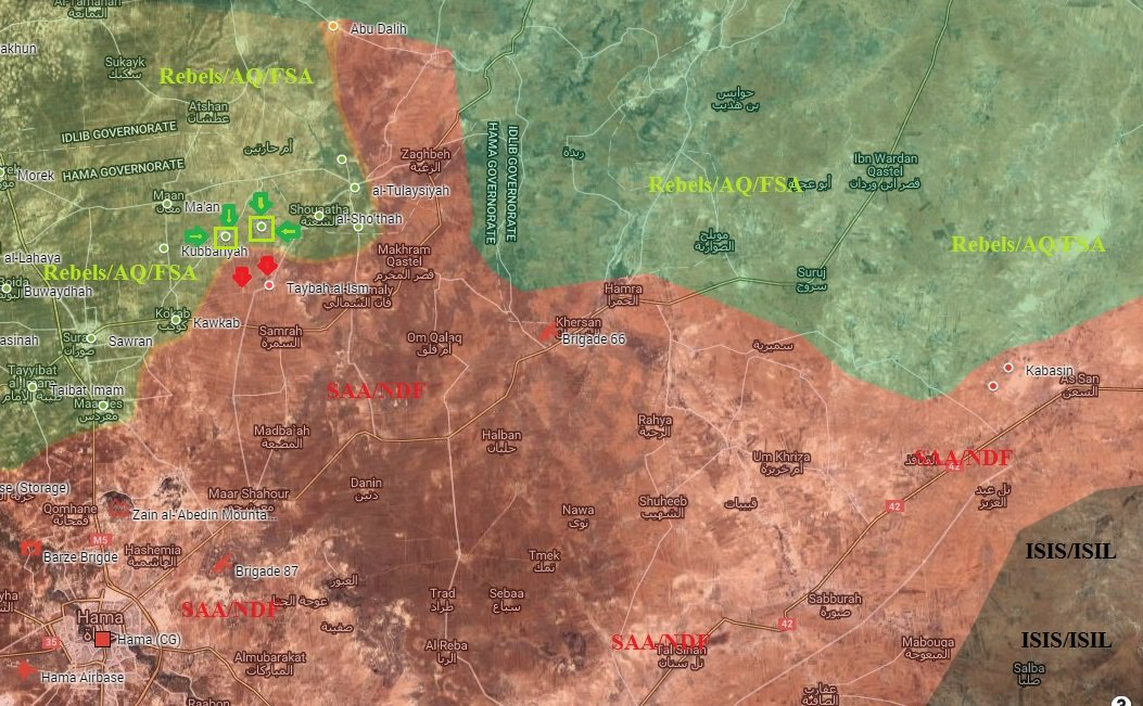 Al-Nusra Front & Allies Capture 2 More Villages in Northerh Hama