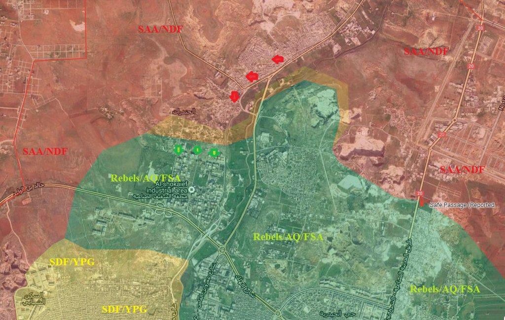 Syrian Army, Palestinian Militias Liberate Handarat Refugee Camp in Northern Aleppo