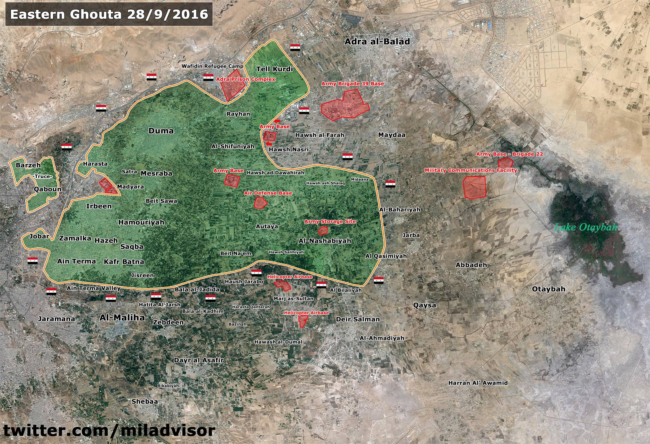 Syrian Army Foils Jaysh al-Islam Counter-Attack, Prepares to Encircle Tell Kurdi in Eastern Ghouta