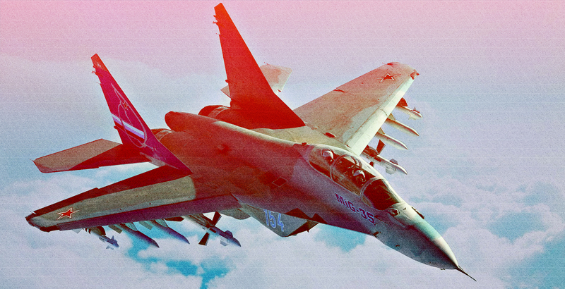 Syrian and Russian Warplanes Smash Terrorist Targest across Country