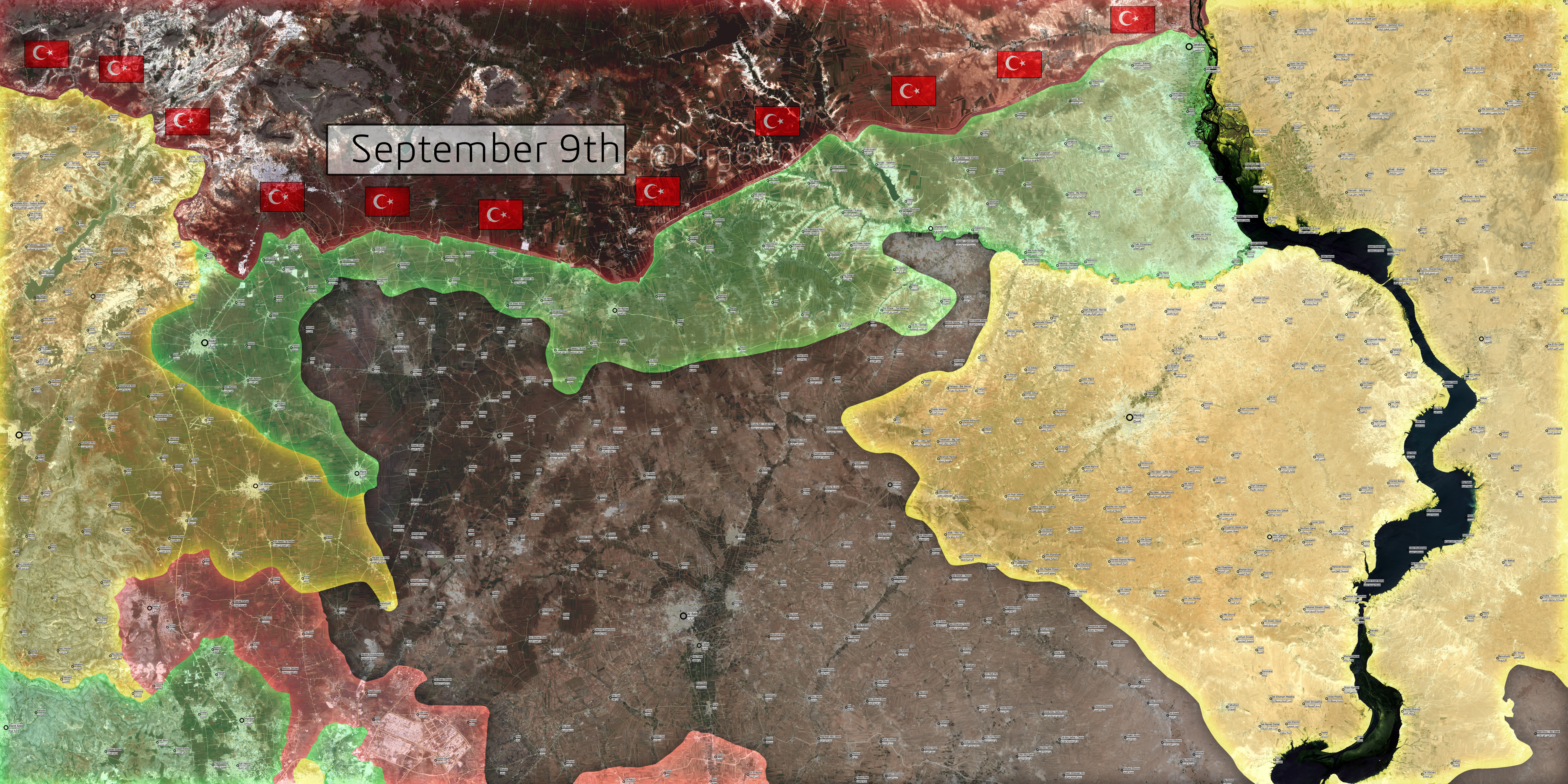 Turkey-led Forces Consolidating Gains in Northern Aleppo, Syria