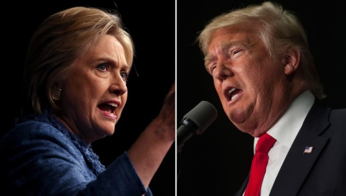 Trump Tops Clinton 45% to 43% in the New Survey
