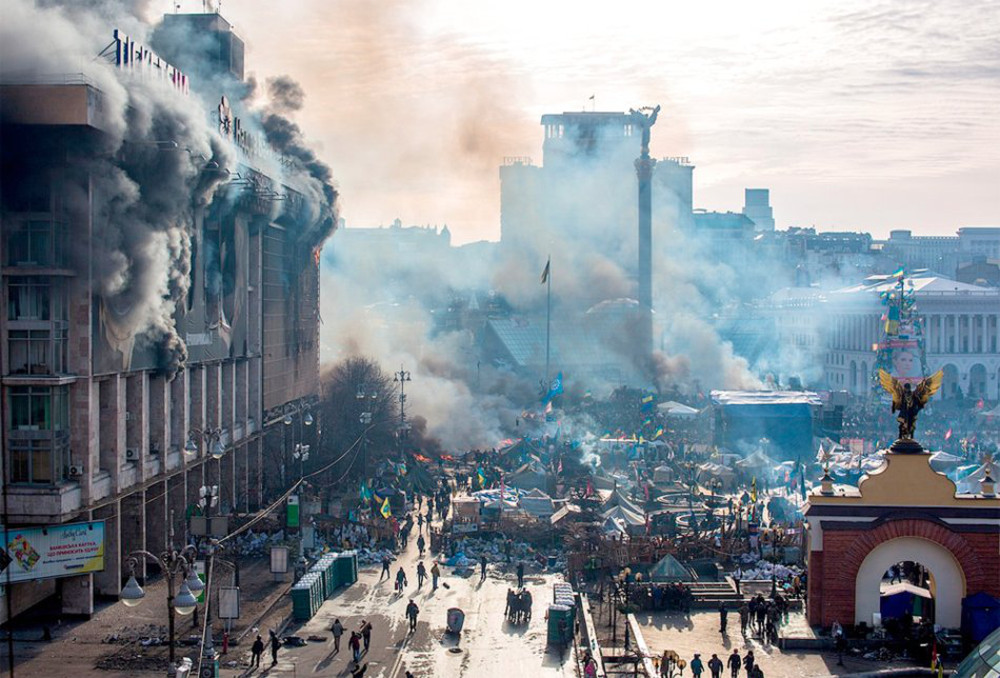 Opinion: The Maidan Pushed Russia to Become Superpower Number One