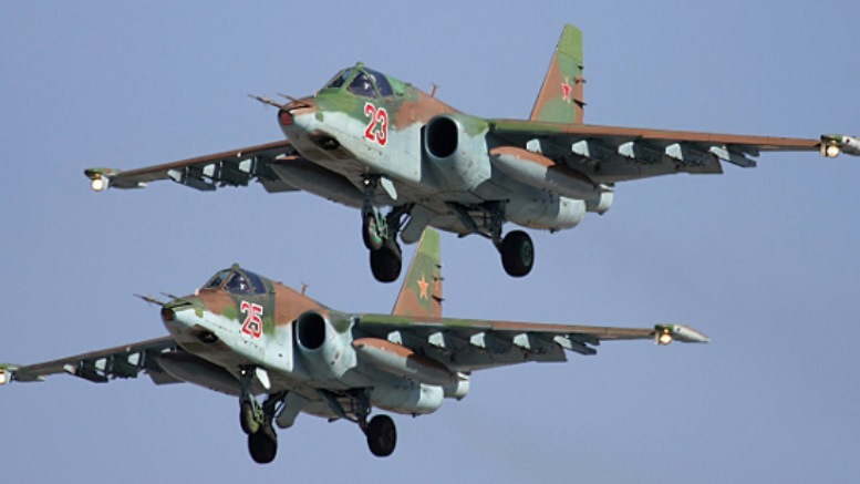 Satellite Imagery Indicates Iraq Received More Russian Su-25s