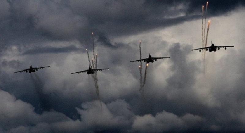 Russian jets rain hell on the jihadist rebels in southern Aleppo