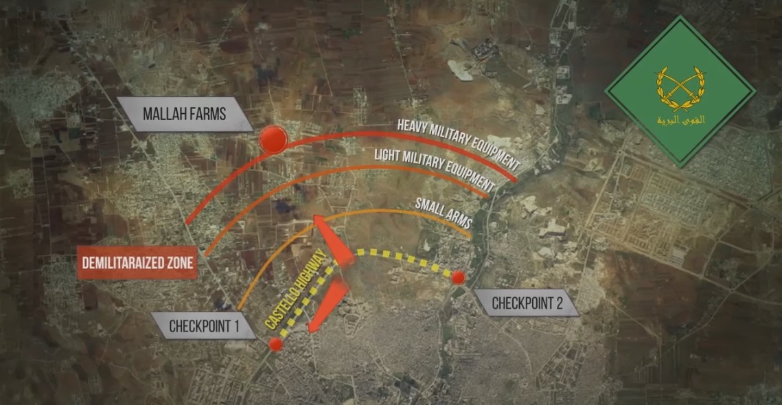 Clashes Resumed at Castello Highway. Russian Air Strike Reported