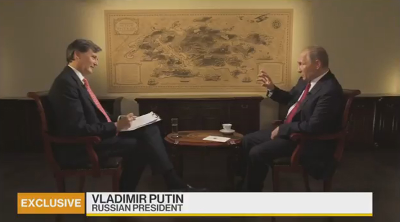 """Putin Joins """"OPEC Headline"""" Fray, Pushes For Oil Production Freeze, Iran Exemption"""